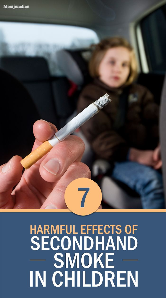 7 Harmful Effects Of Secondhand Smoke In Children