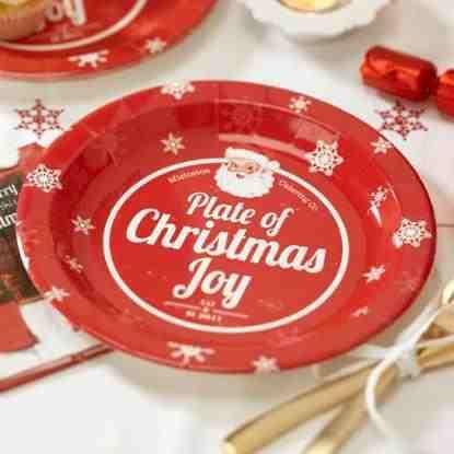 #christmas #plate #cheer #holiday
