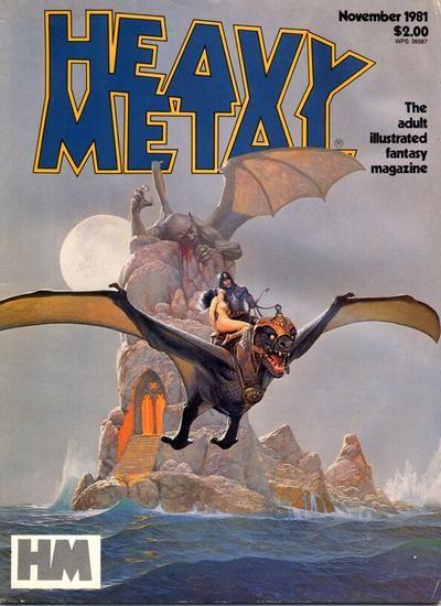 Heavy Metal Magazine (1977 series) v5 #8, by Vicente Segrelles