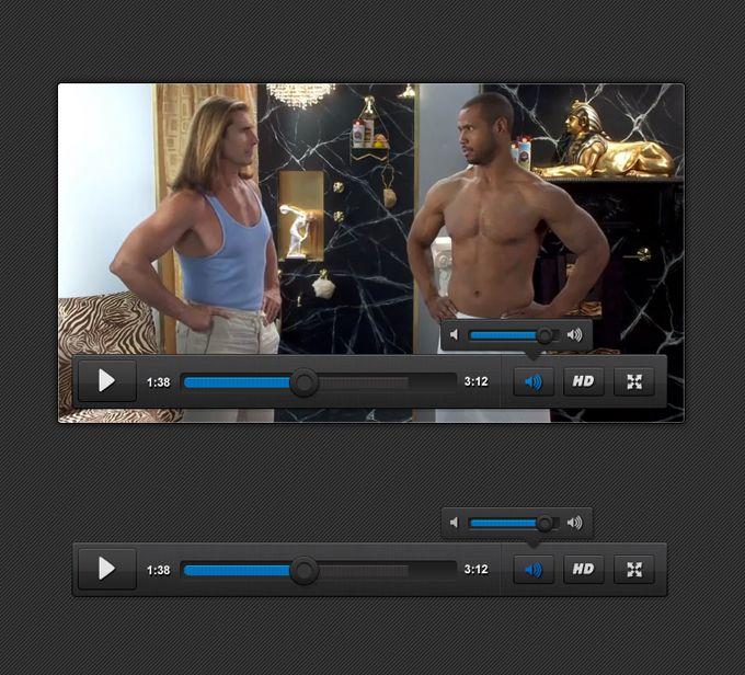 Video Player UI - 365psd