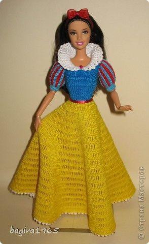 Куклы Вязание Мои куклы одежда для барышень и мадамов Нитки фото 19