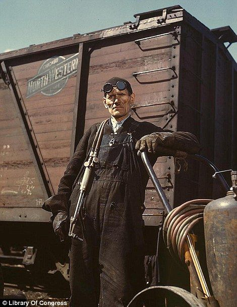 The Great Depression - Rare Color PhotosPhotos, Libraries Of Congress, Proviso Yards, Mike Evans, Ripped Track, Colors Photography, The Farms, Jack Delano, Chicago