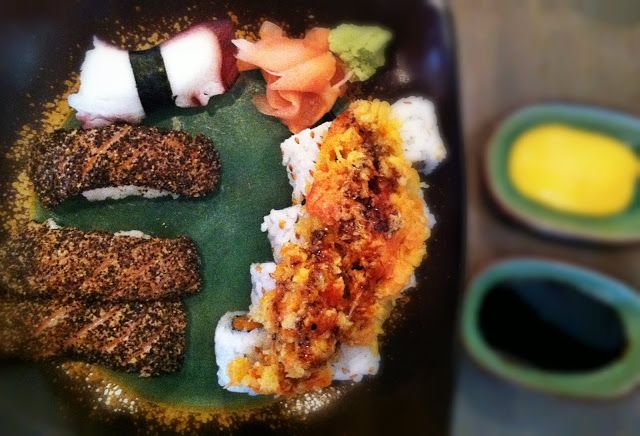 A Trip to the Suburbs: Humble's Ginger Cafe #sushi #houston