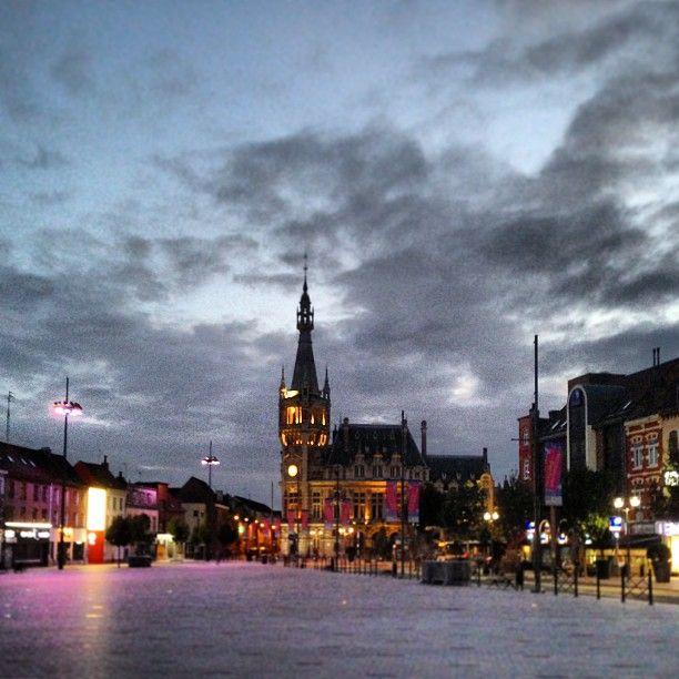 Tourcoing, son centre, son ciel...
