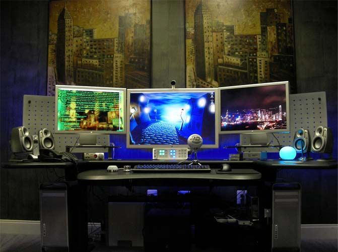 Computer Room Design computer bedroom | szolfhok
