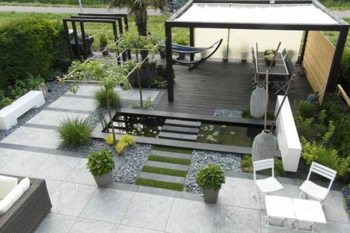25 id es pour am nager et d corer un petit jardin jardin pinterest jardin minimaliste. Black Bedroom Furniture Sets. Home Design Ideas
