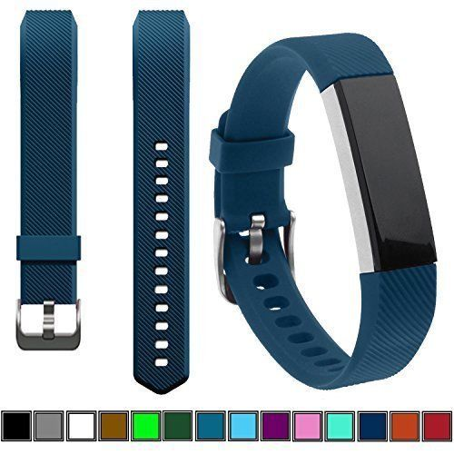 Fitbit Alta Strap Band Adjustable Replacement Buckle Activity Tracker Sport Blue