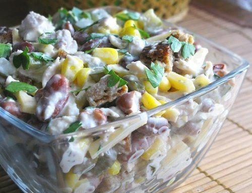 Рецепты вкусных, полезных и питательных салатов из красной консервированной фасоли | Застолье-онлайн