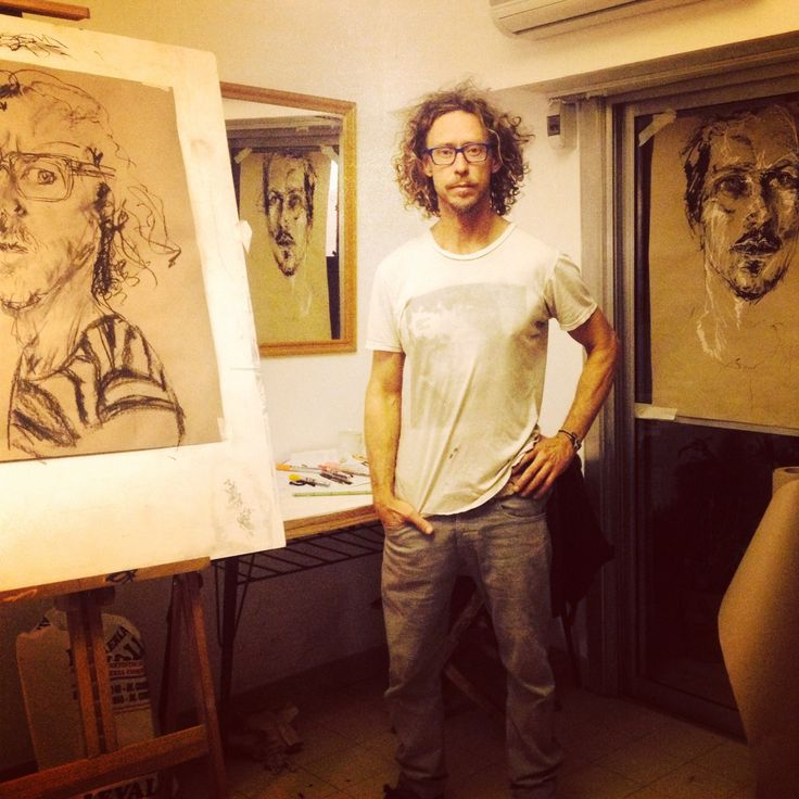 Craig's creative room in Buenos Aires
