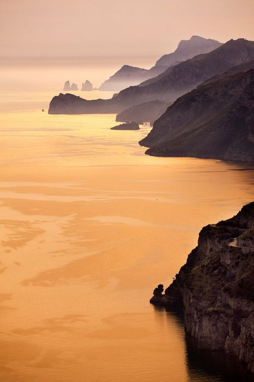 Amalfi Coast, Campania, Italy (by SalvadoriArte)