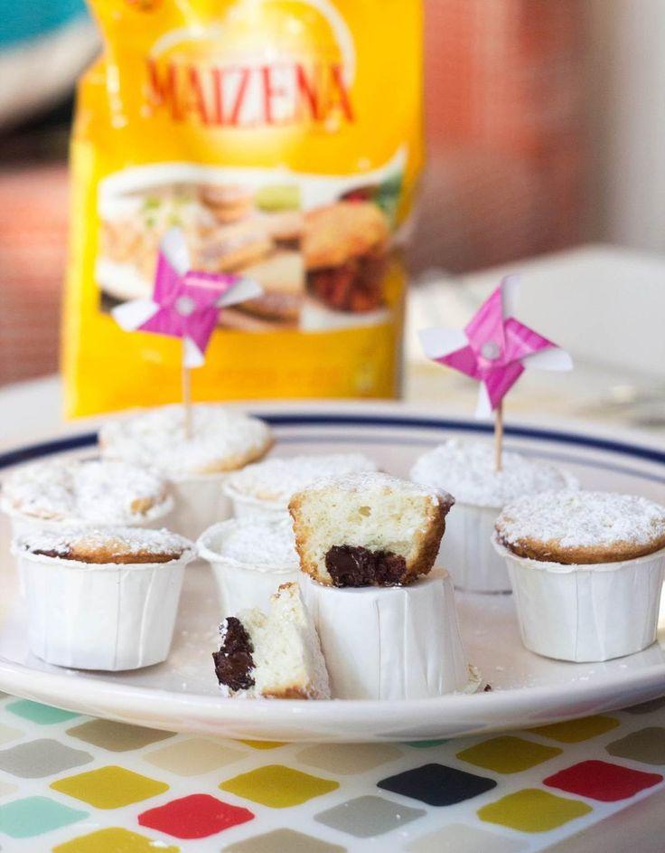 Mini Muffins con chips de chocolate o frutillas GLUTEN FREE