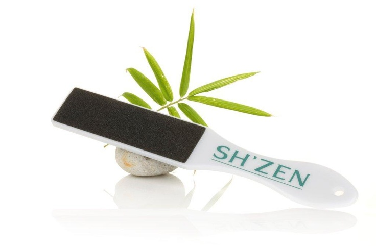 Smooth and soften hard soles and heels with the Sh'Zen Foot Rasp  http://www.shzen.co.za/feet_smoothing.php