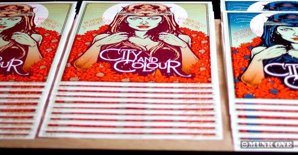 Munk One, City and Colour, San Francisco Prints.
