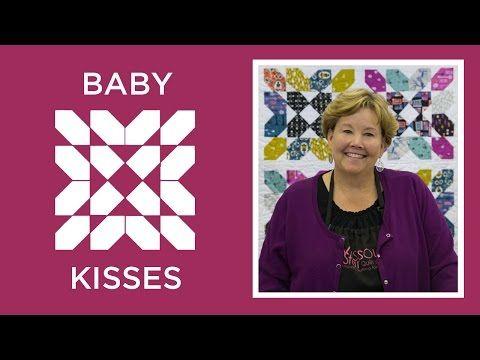 Make an Easy Baby Kisses Quilt | Missouri Star Quilt Company - YouTube | Bloglovin'
