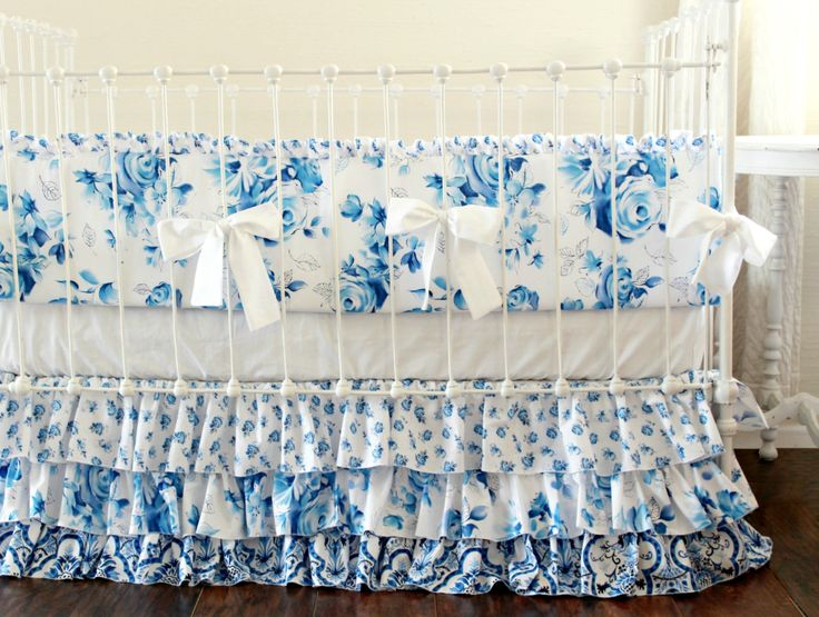 Royal Blue Crib Bedding