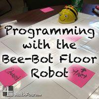 Bee-Bot Floor Robot - Teaching Basic Programming