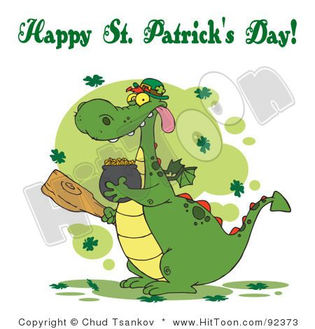 Happy St Patricks : Happy St Patrick's Day Greeting to my family and friends.