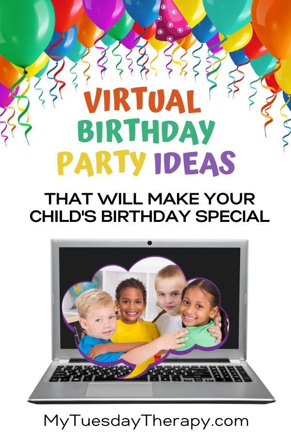 Virtual Birthday Party Ideas For Kids Special Time With Friends In 2020 Birthday Party At Home Boy Birthday Parties Watermelon Birthday Parties