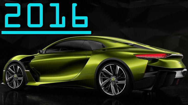 ►2016 Citroen DS E-Tense Concept High Performance Electric GT Car First ...