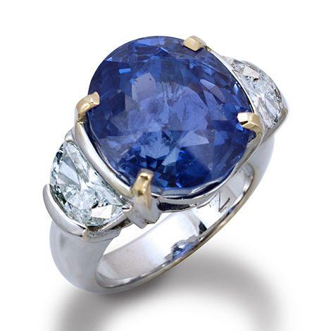 » de Boulle Estate Collection Sapphire Ring » Sapphire and Diamonds