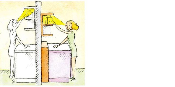 Better visibility the advantages of a 80cm depth - Construire un bar de cuisine ...