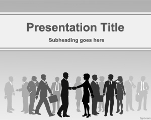 Commerce PowerPoint Template is a free gray template for PowerPoint that you can use for business deals in PowerPoint presentations as well as commerce presentations in PowerPoint. Use this template for other online business as well as B2B presentations in PowerPoint.