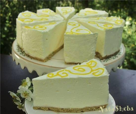 """Шифоновый лимонный торт-суфле из кинофильма """"Полночь в Париже"""""""