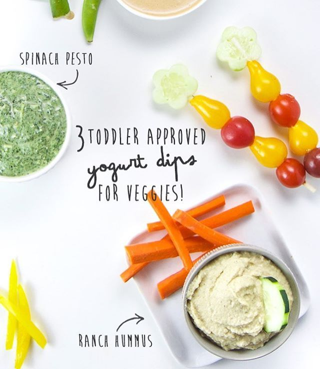 I'm sharing 3 of our all-time favorite toddler dips on the blog today!! Bonus - they all have protein rich yogurt in them👍🏼 👉🏼And yes, that Ranch Yogurt Hummus is perfect to pair with pretzel thins and a glass of wine for a late night snack!!!👈🏼 ***Link in profile*** #healthyfood #toddlermeals #toddlersnacks #snack #healthy . . http://www.babyfoode.com/blog/3-toddler-approved-yogurt-dips-for-veggies