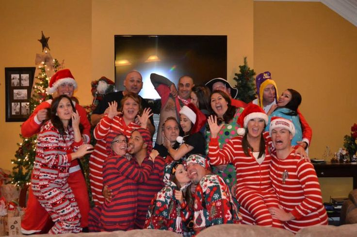 Christmas pajama party. Adult only.