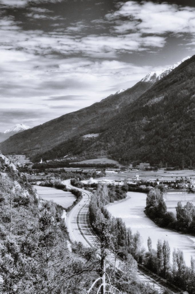 bwstock.photography  //  #highway #river #Inn #Tyrol
