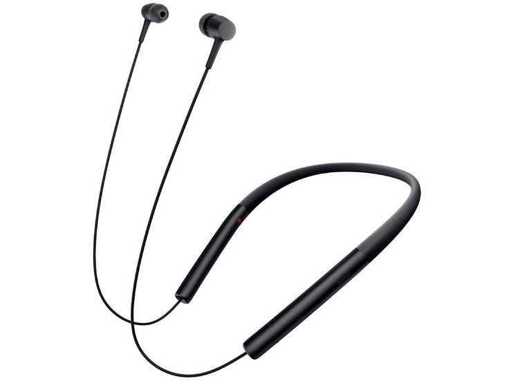 SONY wireless stereo headset MDR-EX750BT/B (charcoal black). Headphone part: Model closed dynamic / Driver unit: 9 mm dome type (CCAW voice coil adoption) / Sensitivity: 105 dB / mW (when wired connection) / code length: about 1.0m, silver-coated OFC Litz wire, removable / input plug: gold-plated L-shaped stereo mini plug Mass: (not including code) about 38g / frequency characteristic: 5Hz-40KHz / corresponding impedance: 16Ω. Microphone part: Model MEMS / directional characteristics:...