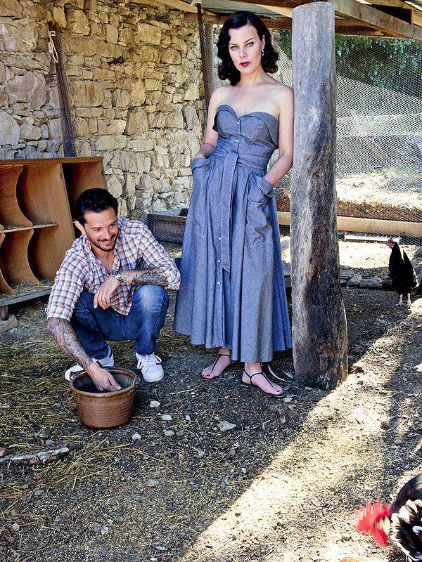 debi mazar tuscan home | Debi Mazar and Gabriele Corcos