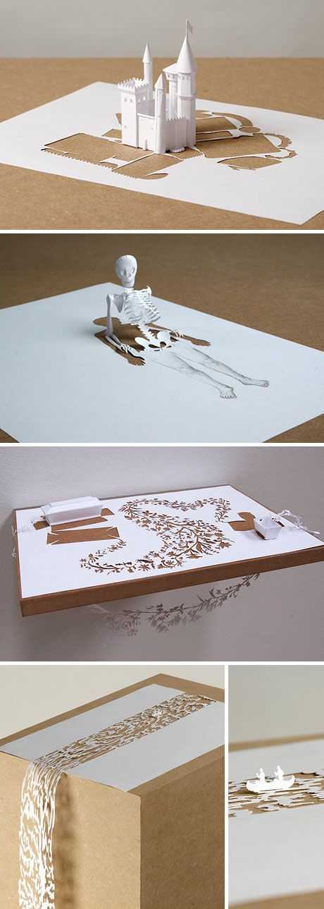 Mon carnet: artist: peter callesen- paper can be amazing