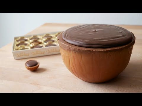 XXL Toffifee Selber Machen (Rezept) || Homemade Giant Toffifay (Recipe) || [ENG SUBS] - YouTube