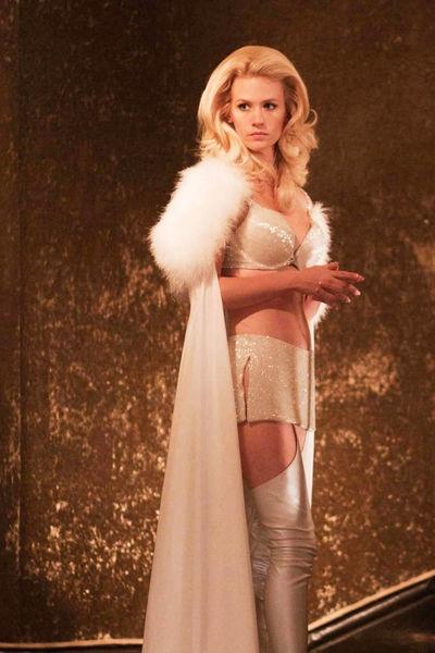 """January Jones as Emma Frost in """"X-Men:First Class"""" (2011)"""