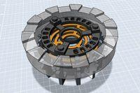 XRobots.co.uk - 3D Printed Iron Man Arc Reactor