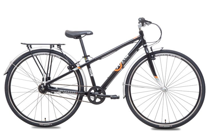 E-620x3i Boys Black Commuter Bike for 10 to 14 year olds
