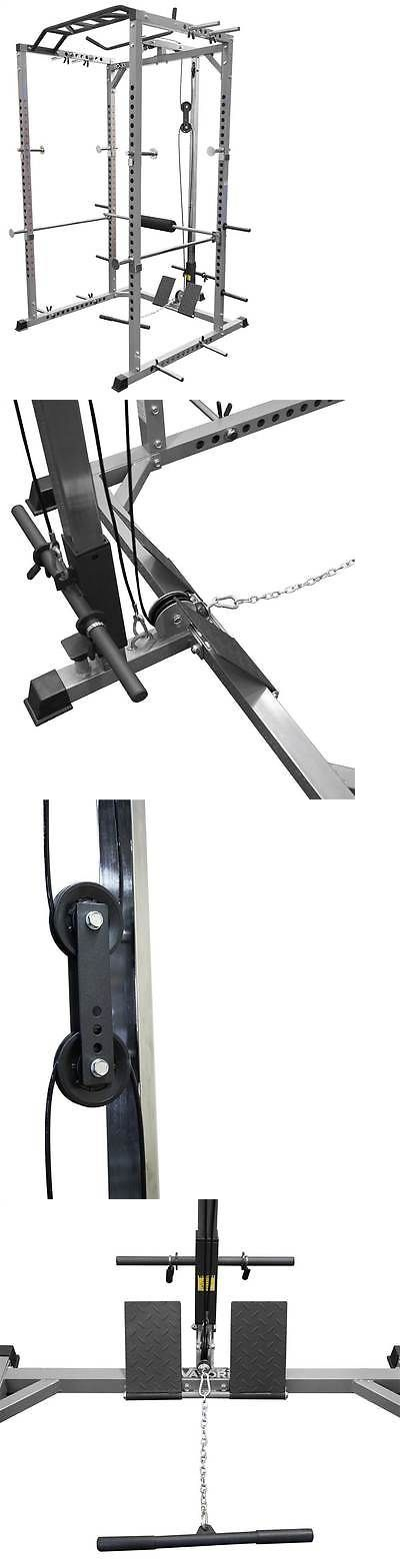 Home Gym Attachments 179813: Lat Pull For Heavy Duty Power Cage [Id 3416694] BUY IT NOW ONLY: $203.39