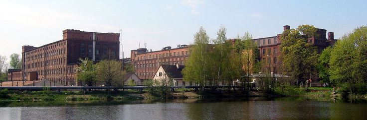 Grohman Sheibler factory, Łódź, (Poland)