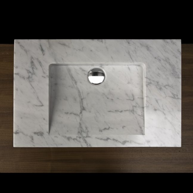 Lacava ST001 Natural Stone Vanity Top :: Bathroom Sinks :: Bath Kitchen and Beyond