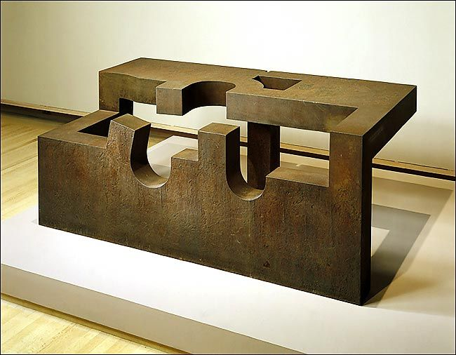 "Silent Music II"" (1983) by Eduardo Chillida"