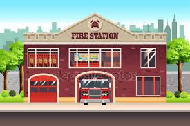 Resultado de imagen de estacion de bomberos dibujo