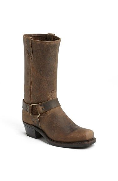 Free shipping and returns on Frye 'Harness 12R' Boot at Nordstrom.com. One of Frye's original heritage styles is designed with the finest American leather for durability and performance, and topped with folded, double-thickness pull tabs. Genuine Goodyear welt construction includes a high-abrasion neoprene sole and heel, with secure treads for traction.