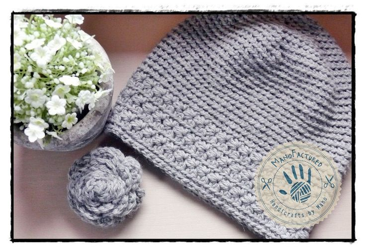 Little Toronto crochet cap and brooch set by ManoFactured on Etsy