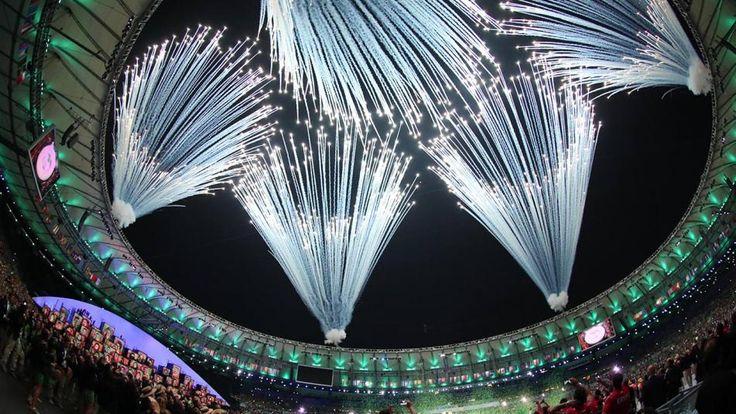 the rio opening ceremony.