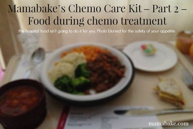 Best Foods To Eat During Chemo Treatments