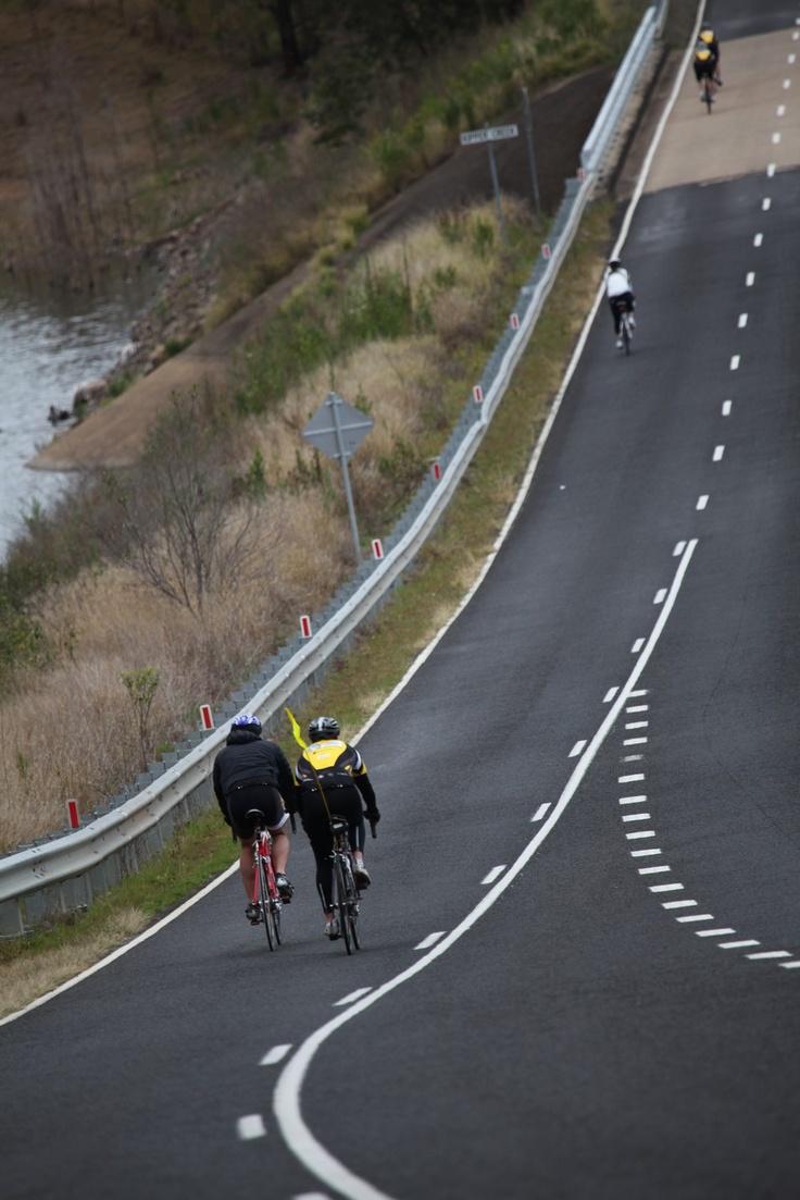 #RioTinto #Sunsuper #RTCCBR #QIMR A long road, a short distance.  Facebook:  https://www.facebook.com/RideToConquerCancer