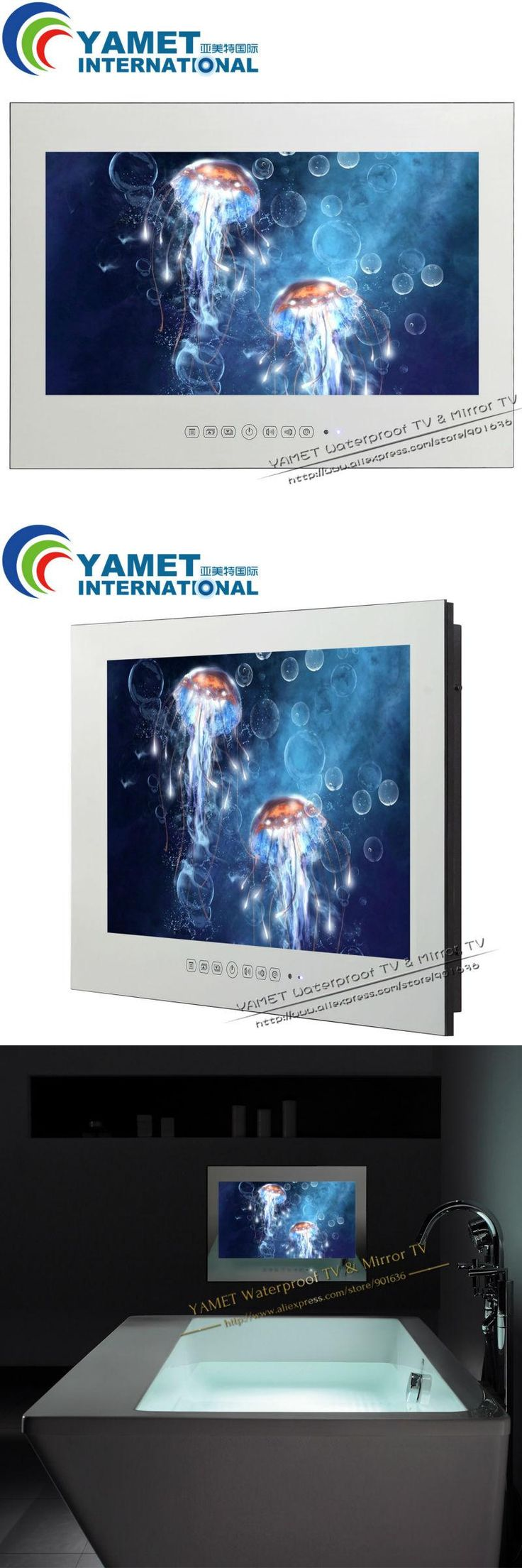 32 inch Yamet Mirror Android smart TV Mirror Television Hotel TV WIFI full-HD 1080P HDMI