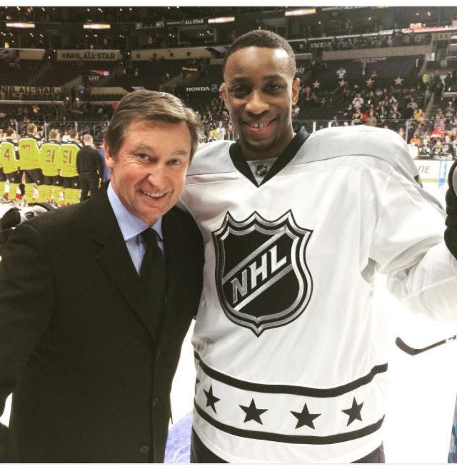 Simmonds and Gretzky, all star game 2017