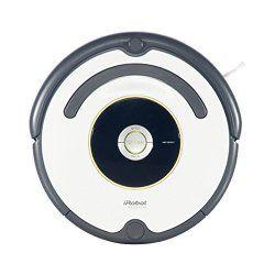 iRobot Roomba 620 Staubsaug-Roboter Erkennt selbstständig den Raum, navigiert um Hindernisse und Abgründe, stellt sich zudem automatisch auf verschiedene Untergründe ein.